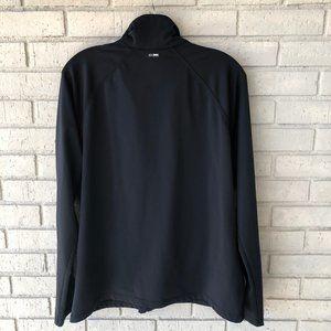 adidas Tops - EUC Adidas Black Zip Front Jacket - Women's XL